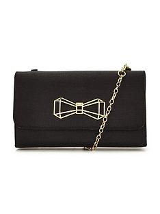 ted-baker-geometric-bow-clutch-bag
