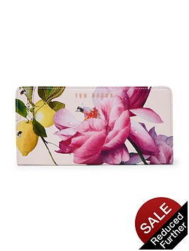ted-baker-citrus-bloom-leather-purse