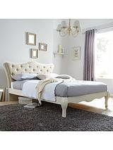 Adelie Double Bed with Optional Mattress