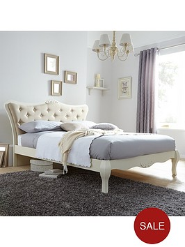 adelie-double-bed-with-optional-mattress
