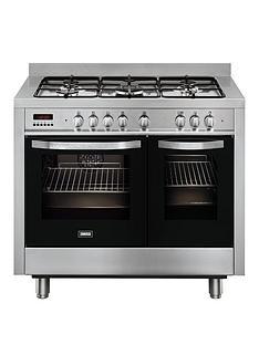 zanussi-zck18307xa-100cm-double-oven-dual-fuel-range-cooker