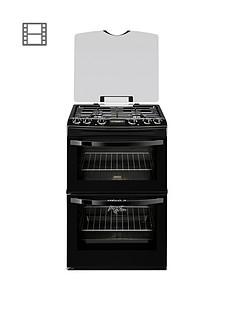 zanussi-zanussi-zck68300b-60cm-double-oven-dual-fuel-cooker