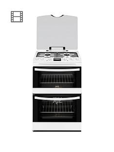 zanussi-zck68300w-60cm-double-oven-dual-fuel-cooker-white
