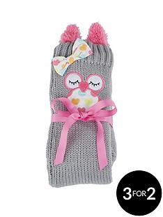 funky-owl-slipper-socks