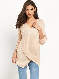 vila-vimatch-knit-top-rose-dust