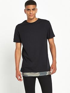 river-island-camo-printed-double-layer-t-shirt