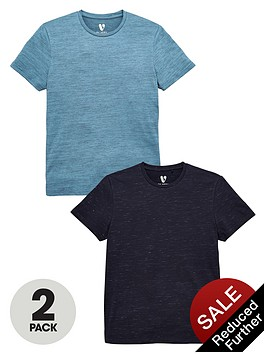 v-by-very-2-pack-space-dyed-t-shirts