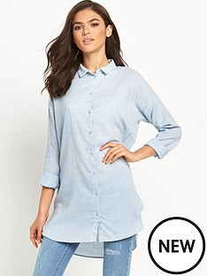 vila-vila-zla-chambray-long-shirt