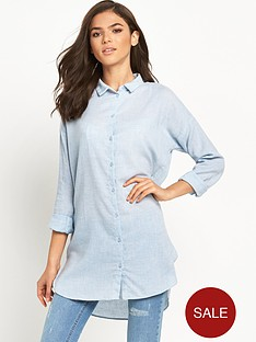 vila-zla-chambray-long-shirt