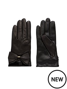 ted-baker-ted-baker-leather-bow-gloves