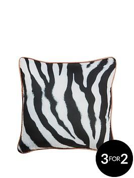 zebra-monochrome-cushion