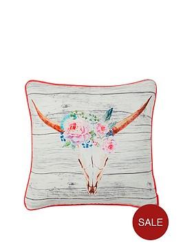floral-skull-cushion