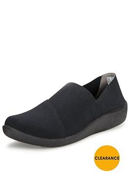 clarks-sillian-firn-black-slip-on-shoe