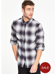 v-by-very-long-sleeve-shadow-check-shirt