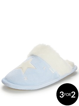 totes-isotoner-wish-upon-a-star-mule-slipper-in-gift-box