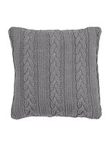Knitted Cable Cushion