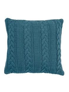 ideal-home-knitted-cable-cushion