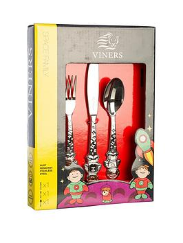 viners-3-piece-space-family-cutlery-set