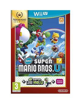 Nintendo Wii U New Super Mario Bros. U  New Super Luigi U Select
