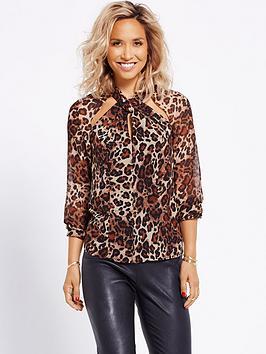 myleene-klass-leopard-print-blouse