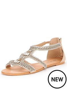miss-selfridge-frost-jewel-flat-sandal