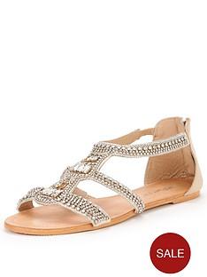 miss-selfridge-frost-jewel-flat-sandal