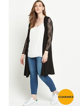 v-by-very-curve-lace-sleeve-jersey-duster
