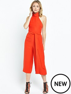 river-island-river-island-red-high-neck-culotte-jumpsuit