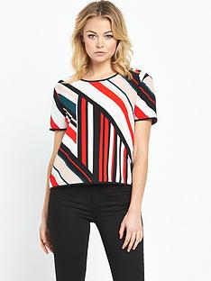 river-island-stripe-cross-over-tee