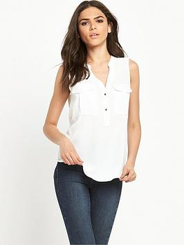 river-island-sleeveless-utility-blouse