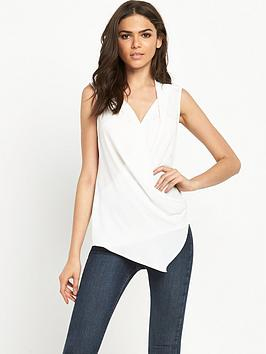 river-island-sleeveless-wrap-blouse