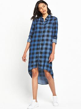 noisy-may-hailey-high-low-shirt-dress