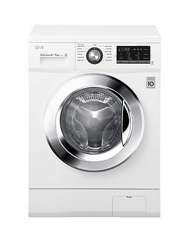Lg Fh4G6Tdm2N 1400 Spin 8Kg Wash 4Kg Dry Washer Dryer  White