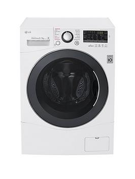 Lg Fh4A8Fdh2N 96Kg Load 1400 Spin Washer Dryer  White