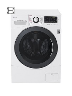 lg-fh4a8fdh2n-9kgnbspwashnbsp6kgnbspdry-1400-spin-washer-dryer-white-next-daynbspdelivery