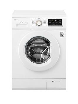 Lg Fh4G7Tdn0 8Kg Load 1400 Spin Washing Machine  White
