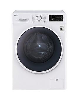 Lg F14U2Tdn0 8Kg Load 1400 Spin Washing Machine  White