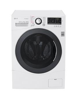 Lg Fh4A8Jds2 10Kg Load 1400 Spin Washing Machine  White