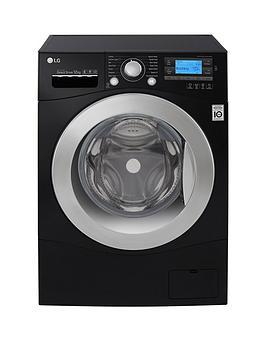 Lg Fh495Bdn8 12Kg Load 1400 Spin Washing Machine  Black