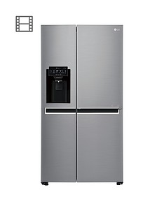 lg-gsl760pzxv-usa-style-fridge-freezer-with-water-amp-ice-dispenser-silver