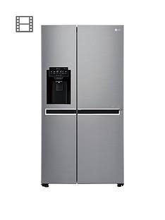 lg-gsl760pzxv-usa-style-fridge-freezer-with-water-amp-ice-dispenser-silver