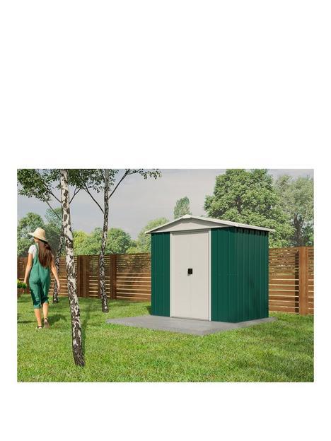 yardmaster-61-x-61-ft-apex-roof-metal-garden-shednbsp