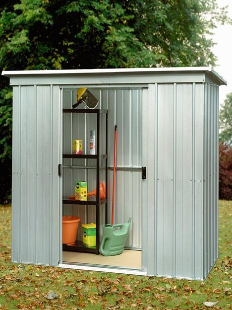 yardmaster-65-x-39ft-double-door-metal-pent-roof-shed