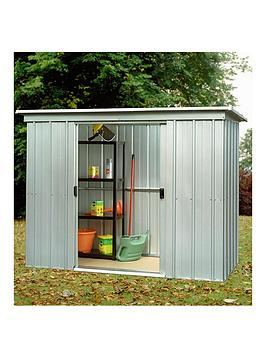 yardmaster-78-x-39ft-double-door-pent-roof-shed