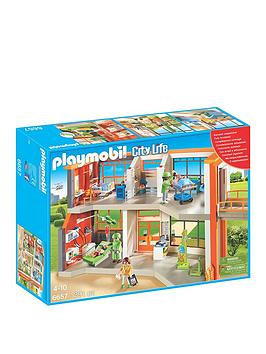 Playmobil Playmobil Furnished Children&039S Hospital
