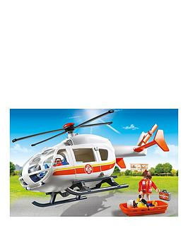 Playmobil Playmobil Emergency Services Flying Ambulance