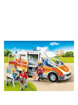 Playmobil Playmobil Emergency Services Ambulance With Light And Sound