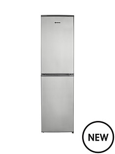 hoover-hff195xk-fridge-freezer-stainless-steel