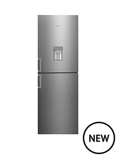 hoover-hvbn6182xwdk-fridge-freezer-stainless-steel
