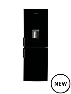 hoover-hvbn6182bwdk-fridge-freezer-black